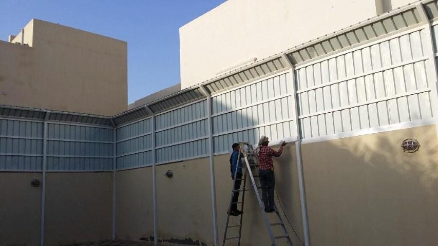 محلات لعمل سواتر الجدران الخارجيه الخبر
